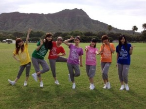 Berryz in Hawaii - Morning Workout